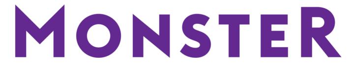 Monster HR Logo PNG